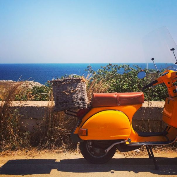 Puglia Italy Vespa scooters tours