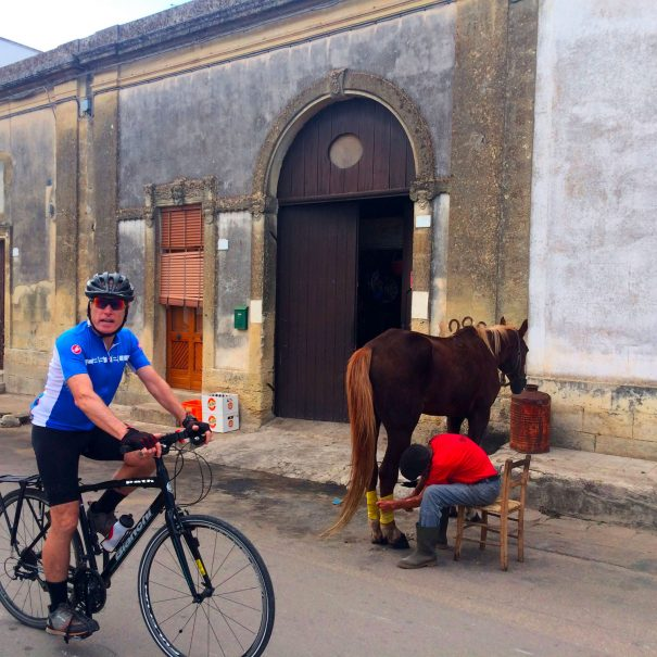 Puglia bike tour 7 days SELF